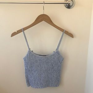 Brandy Melville stretchy cropped tank top